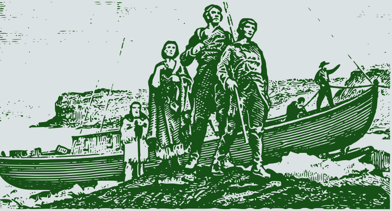 Free Clipart: Lewis and Clark.