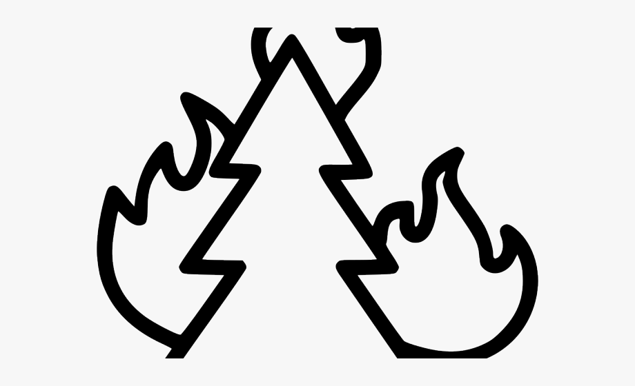 Bonfire Clipart Combustion.