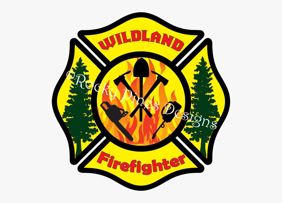 Wildland Firefighter Logo , Transparent Cartoon, Free.