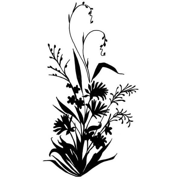 119 Wildflower free clipart.