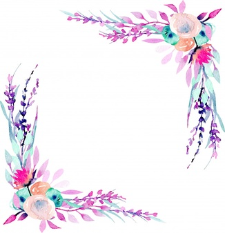 Wildflower border clipart clipart images gallery for free.