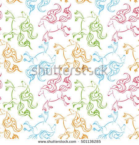 Asian Wild Horse Stock Photos, Royalty.