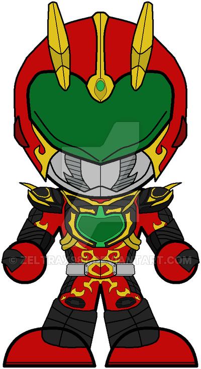 Chibi Kamen Rider Chalice.