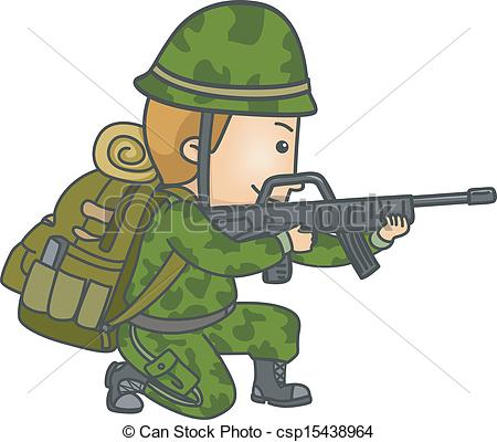 Showing post & media for Cartoon army soldier clip art.