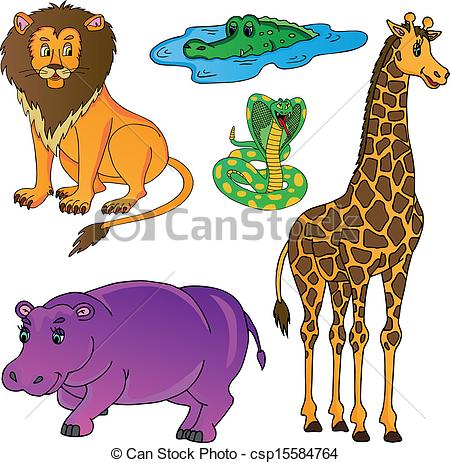 Wild animals clipart 3 » Clipart Station.