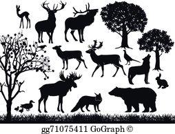 Wildlife Clip Art.