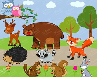 Wildlife clipart #1