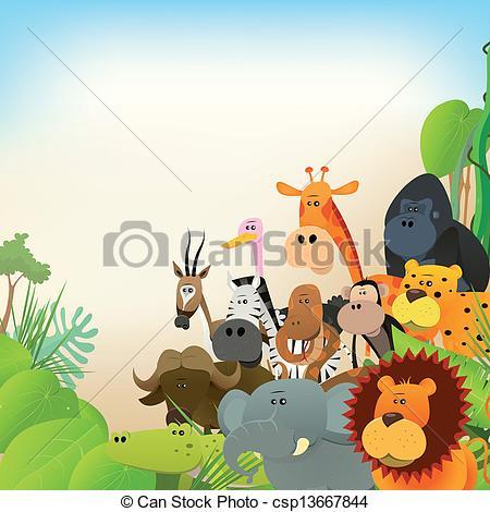 Wildlife clipart #18