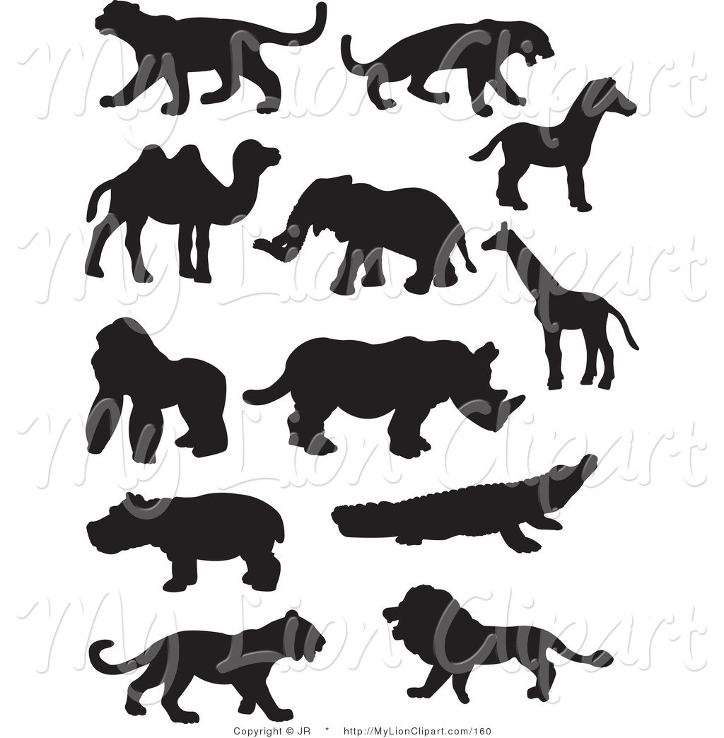 Wildlife clipart black and white 6 » Clipart Portal.