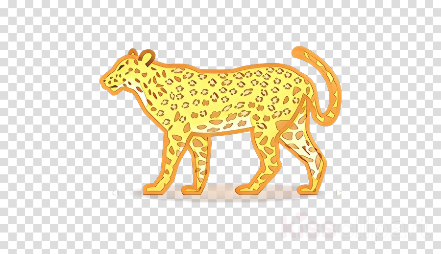 animal figure yellow wildlife clip art terrestrial animal.