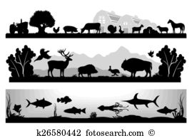 Wildlife reserve Clipart EPS Images. 1,500 wildlife reserve clip.