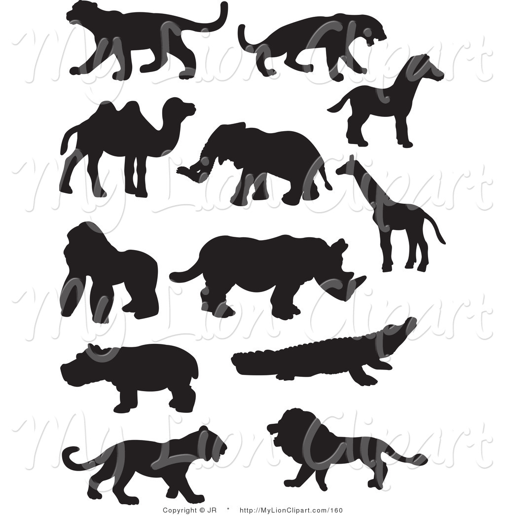 Wildlife Clip Art For Laser.