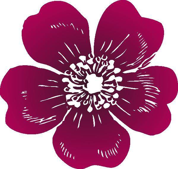 Wild Rose Clipart.