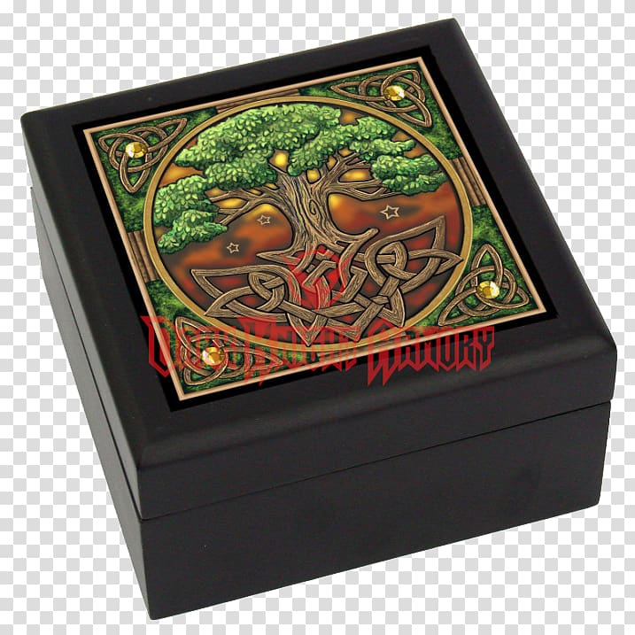 Tree of life Wooden box Whispers from the Celtic Wildwood.