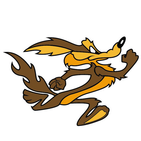 Showing post & media for Cartoon coyote clip art.
