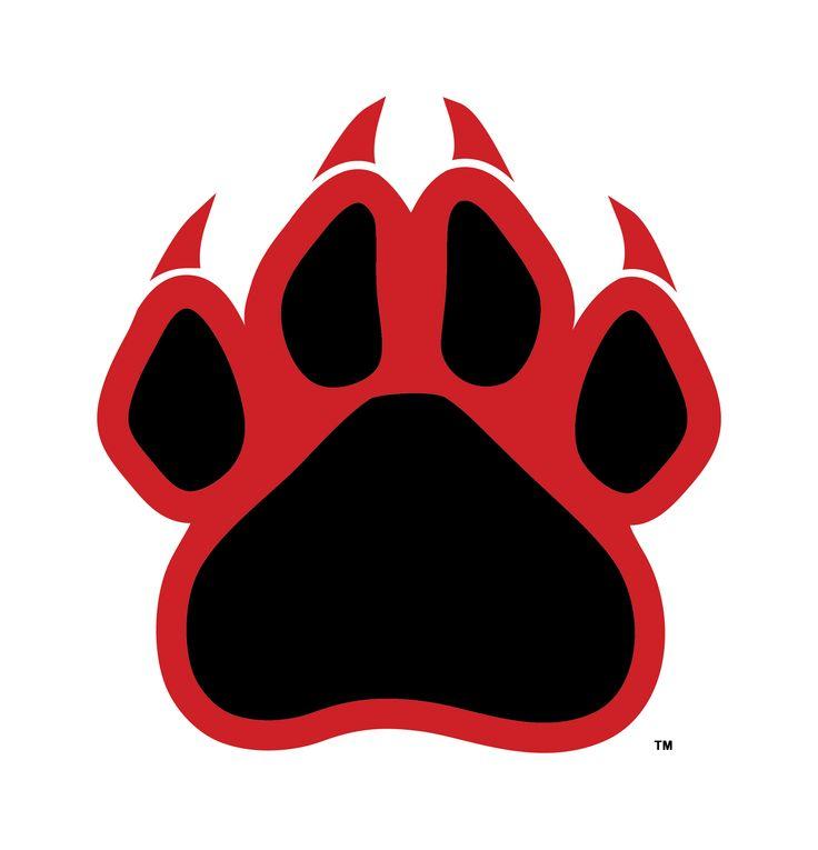 Wildcat Paw Logo.