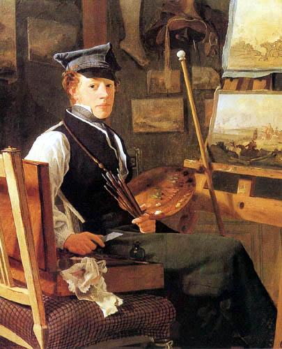 Painter Wilhelm Bendz.