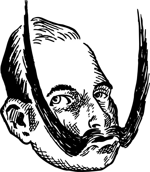 A Young Kaiser Wilhelm clip art Free vector in Open office drawing.