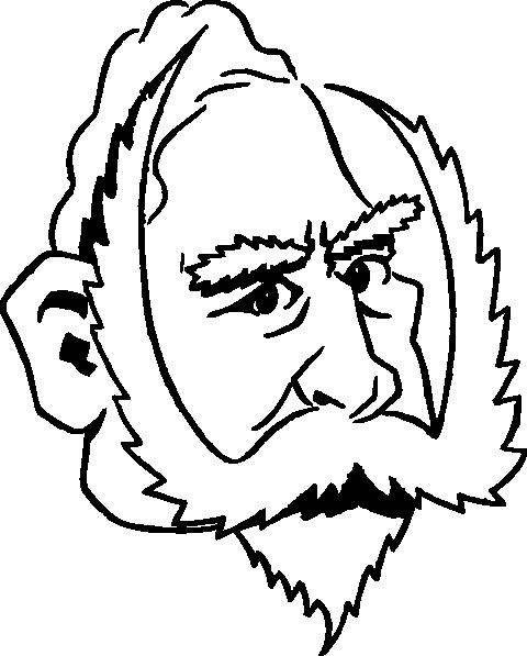 Cartoony Kaiser Wilhelm clip art Free Vector / 4Vector.