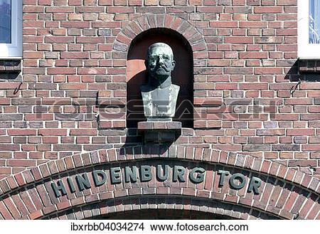 Stock Photo of Hindenburg.