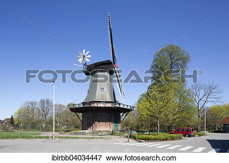 "Picture of ""Windmill """"""""Kopperhorner Muhle"""""""", from 1839."