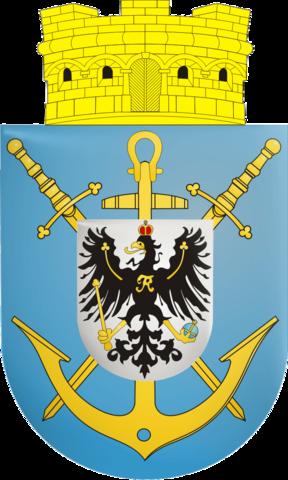 File:Coat of arms wilhelmshaven 1939.png.