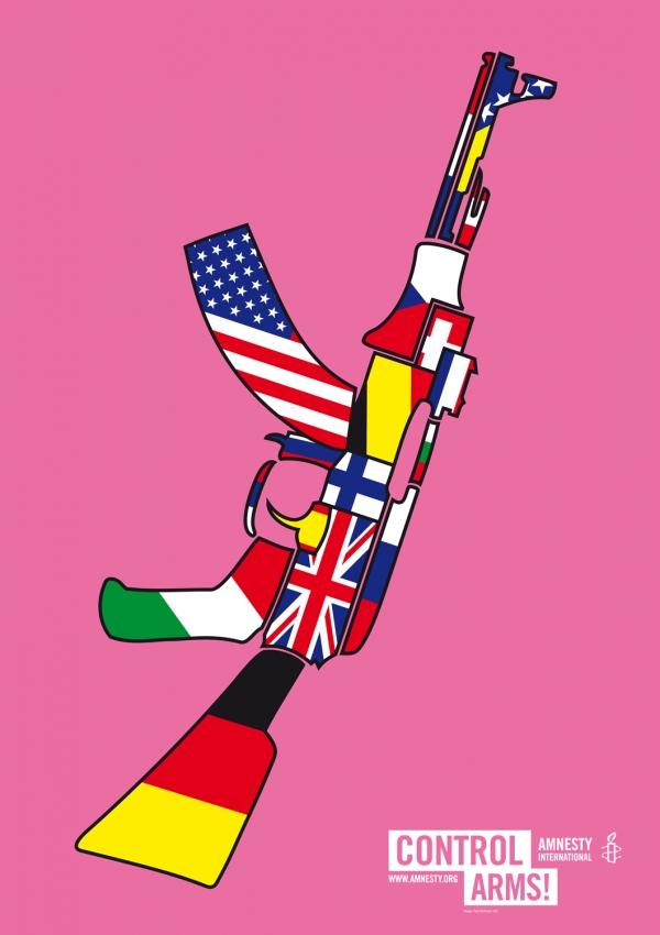 Fons Hickmann M23: Amnesty Poster.