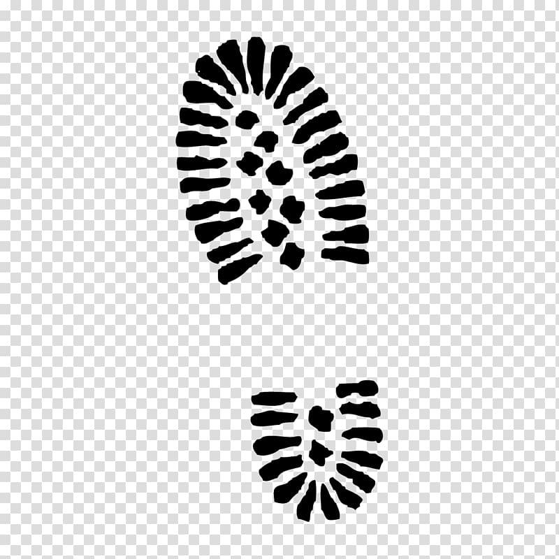 Combat boot Hiking boot Printing , shoe prints transparent.