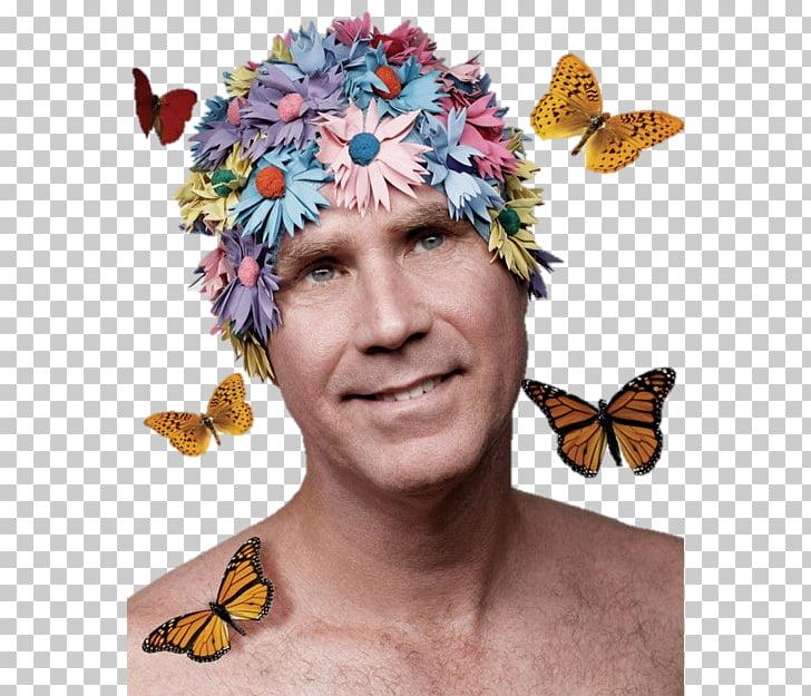 Will Ferrell Swim Caps Swimming Flower, Swimming PNG clipart.