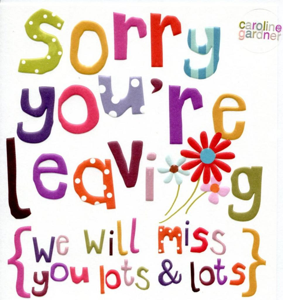 We Will Miss You Clip Art & Look At Clip Art Images.
