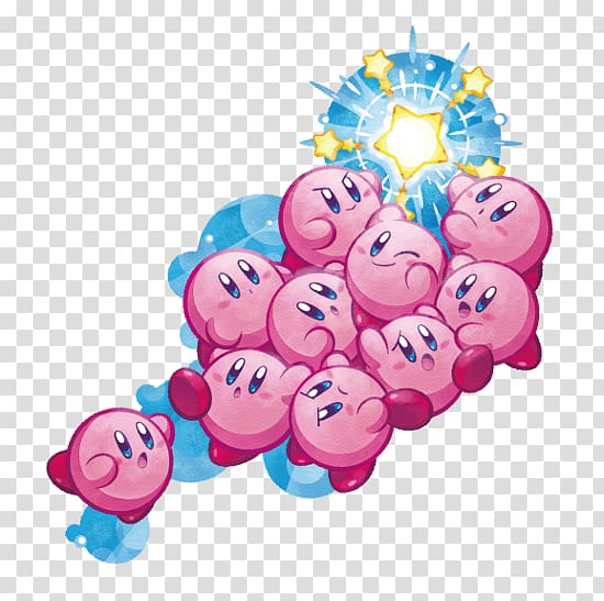 Kirby Mass Attack Kirby Super Star Kirby\'s Return to Dream.