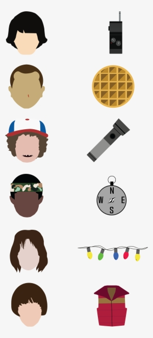 Stranger Things PNG Images.