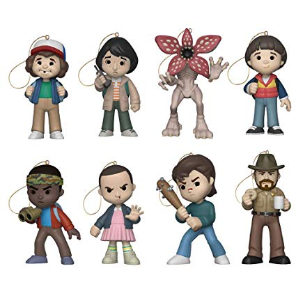 Funko Stranger Things Holiday Ornaments Collection (Set of 8).