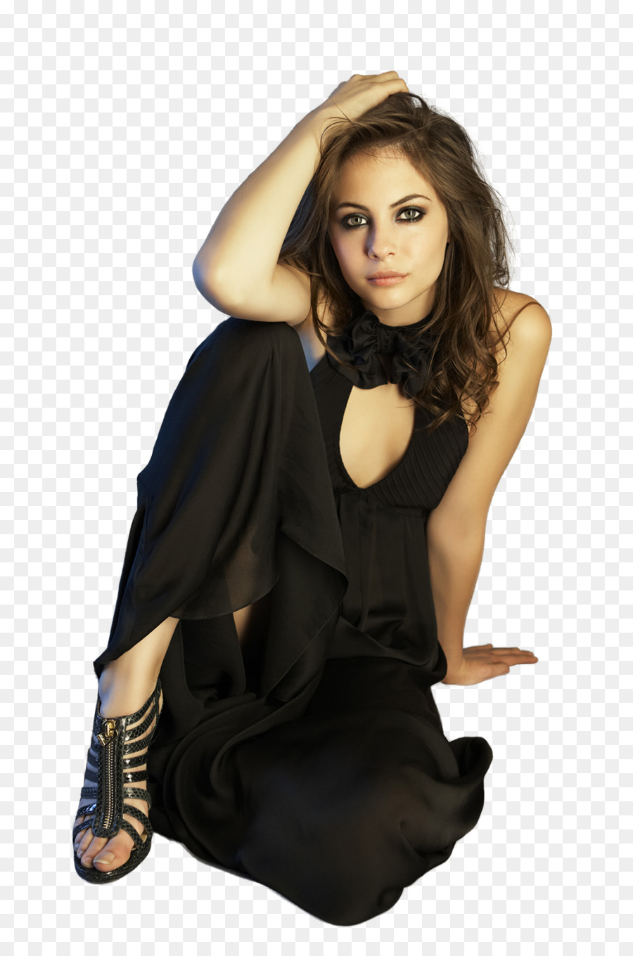 Willa Holland Fashion Model png download.