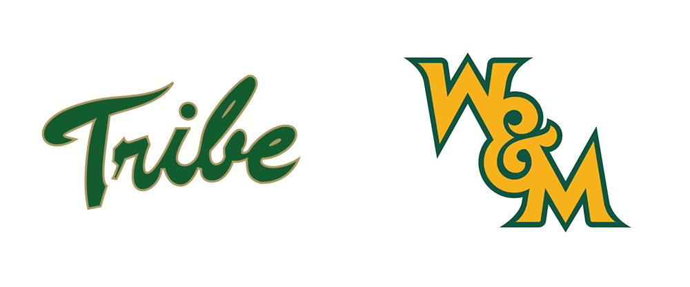 Brand New: New Logos for William & Mary Athletics.