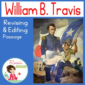 William B Travis Worksheets & Teaching Resources.