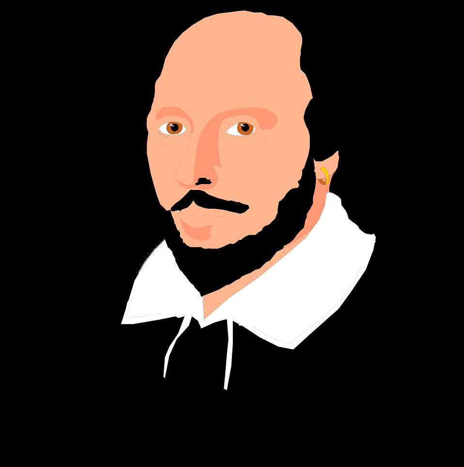 Shakespeare Clip Art, Shakespeare Free Clipart.
