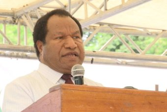 PNG ministers suspended amid inland naval base corruption scandal.
