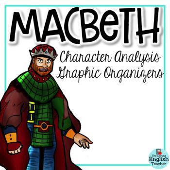 Macbeth Character Analysis Graphic Organizers (William Shakespeare).
