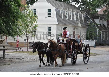 Colonial Williamsburg Stock Photos, Royalty.