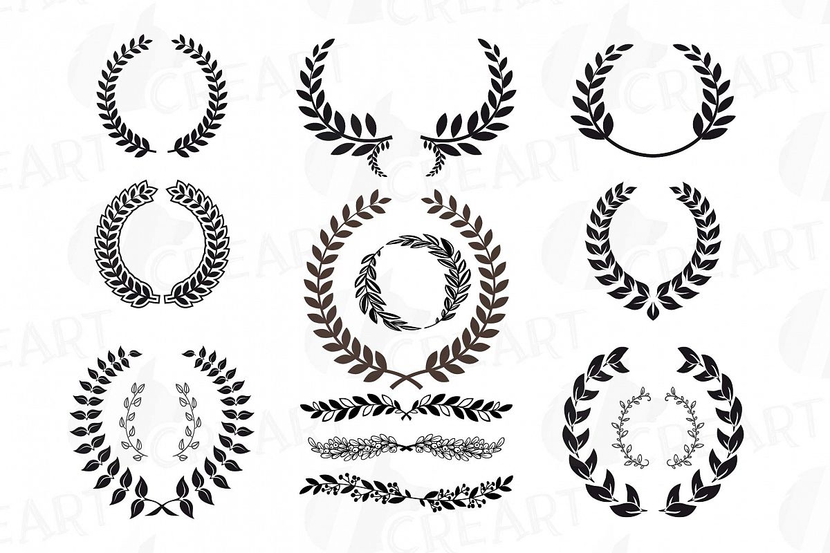Wreath clipart Transparent pictures on F.