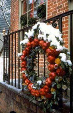 39 Best Colonial Wreaths/Decor images.
