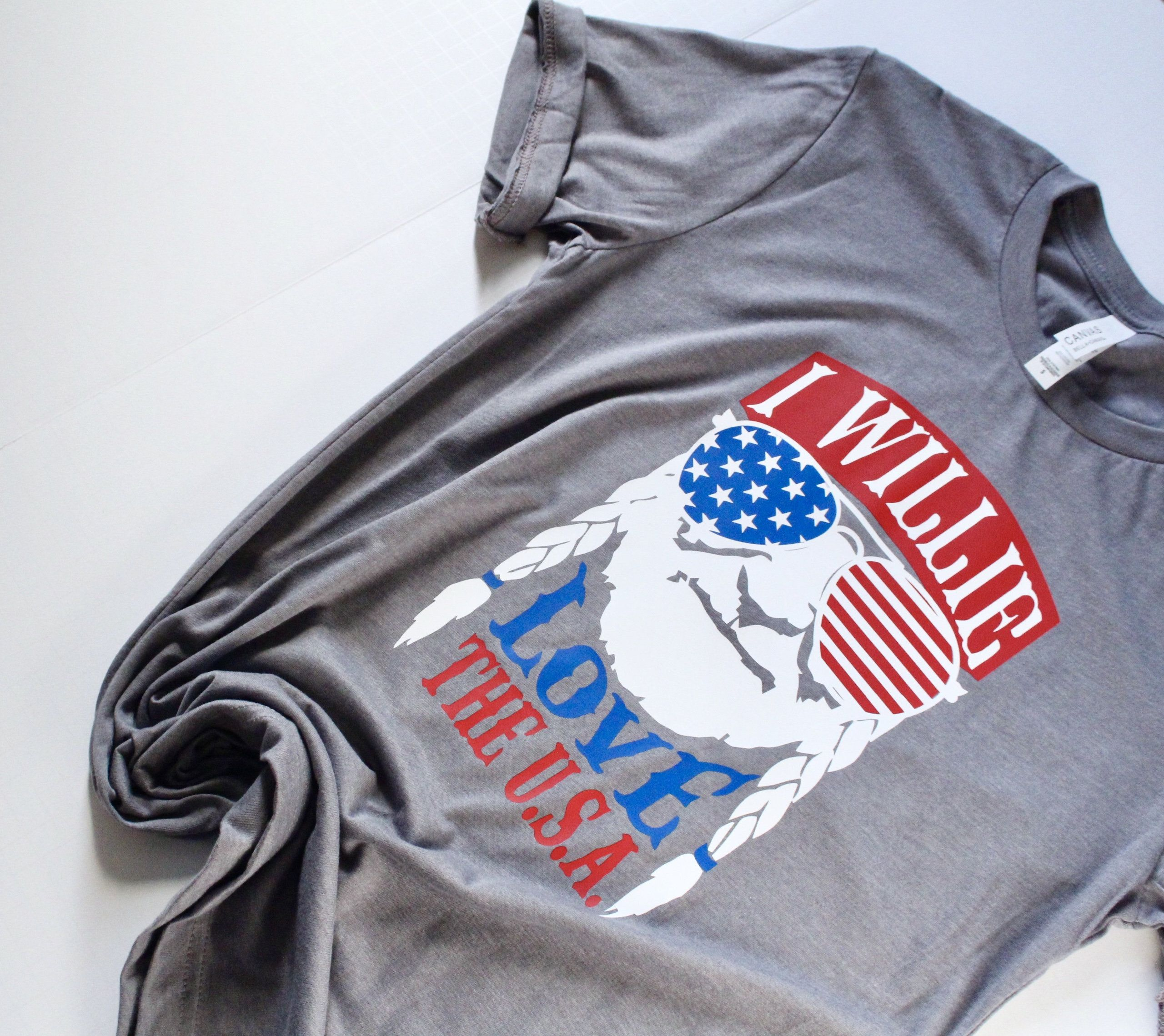Patriotic Willie Nelson Shirt, Willie Love the USA, 4th of.