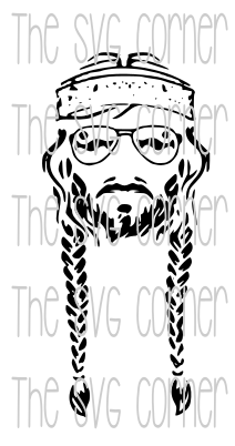 Willie Nelson SVG File.