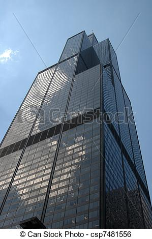 Stock Image of Sears Tower, Chicago csp7481556.