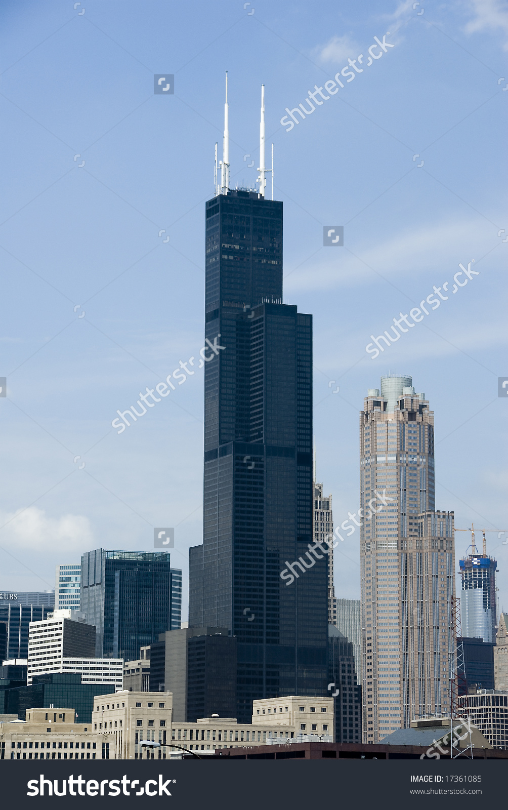 Chicago'S Famous Sears Tower Building Stock Photo 17361085.