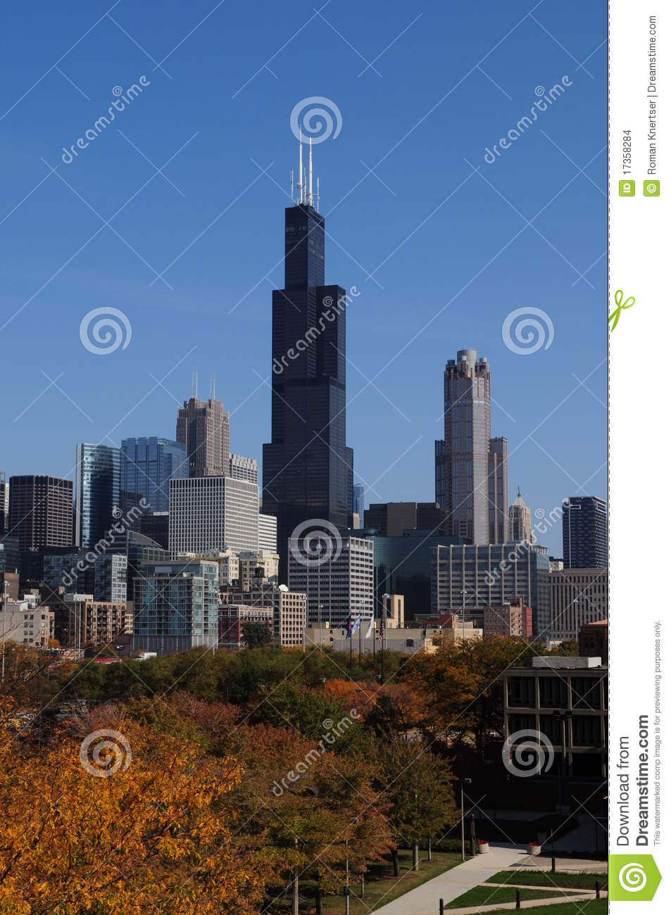 Willis (Sears) Tower Stock Images.