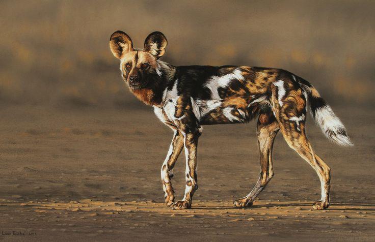 Wildlife art by Leon Fouche.