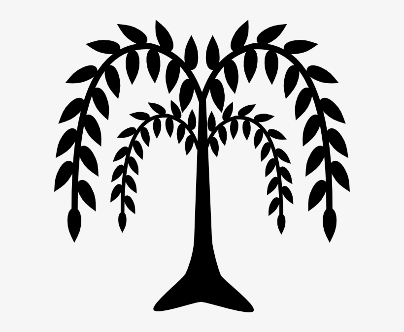 Weeping Willow Clip Art.