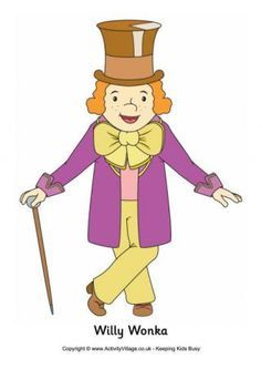 Willy Wonka And The Chocolate Factory Clipart.